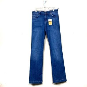 New with tags Zara high rise boot cut jeans 10